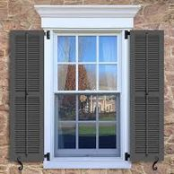 Fixed or operable shutters, pediments, pilasters and  other trim options  are available.