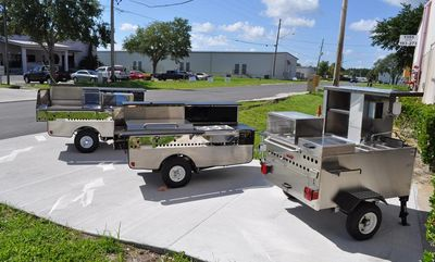 mobile food cart models