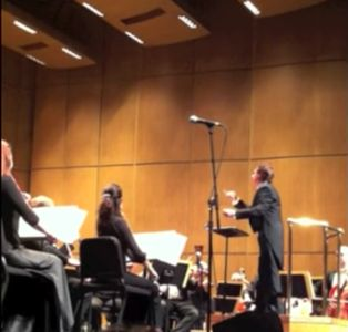 Conducting the New West Symphony