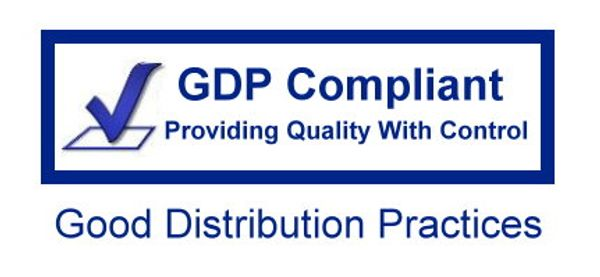 GDP Compliant in the transporting, handling, storage, and distribution of pharmaceutical life sciences