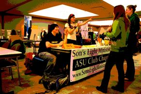 A  club where students may participate in Christian service - oriented activities and projects.