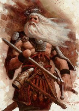 Odin as Alfather