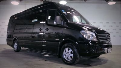 Sprinter Executive Van Black