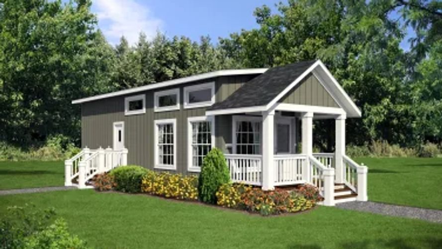 Little Lodge, tiny house, mobil home, trailer, manufactured home, Park Model, RV, Vacation home