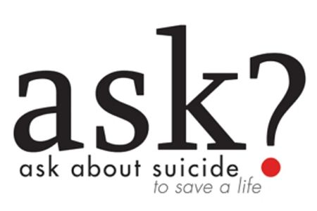 Ask About Suicide to Save a Life Logo