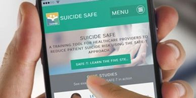 Suicide Safe mobile app for suicide prevention