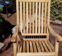 We can clean and seal or stain your deck, lawn furniture and wooden play equipment
