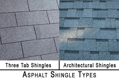 Comparison between 3 tab 25 year shingles and 30 year architectural shingles.