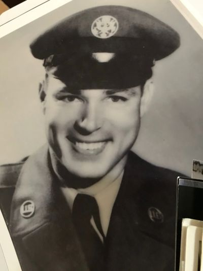 Louis McDaniel Sr. is pictured above in the late 1940's when he served his time in the Vietnam War.