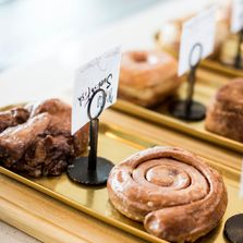 Visit our Sister Store, Valkyrie Doughnuts for fresh donuts made throughout the day!