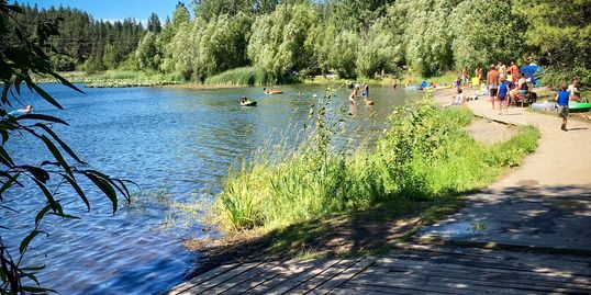 Fish at Fish lake, just minutes from Peaceful Pines RV Park & Campground, Cheney, WA