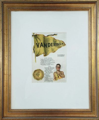 "Vanderbilt Richmond Straight, 10 x 8"", all conservation framing   - $375"