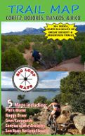Mountain Biking Trail Map Southwest Colorado Cortez Dolores Mancos Rico