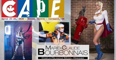 Marie-Claude Bourbonnais is a French Canadian costumer, cosplayer and model. Through her 20+ years