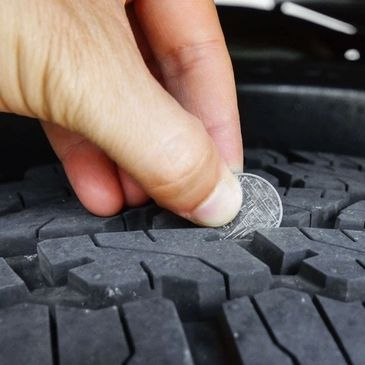 Tire inspection at Auto Tech of East Tawas.
