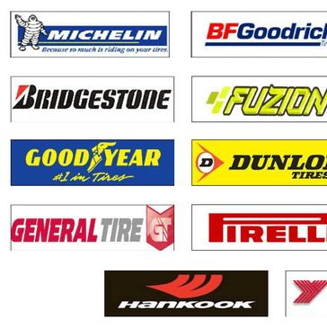Major brands of Tires at Auto Tech of East Tawas.