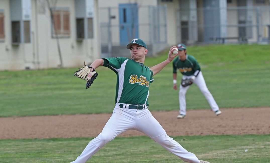 Starting Pitcher Jacob Shrout.  Photo by Stu Jossey