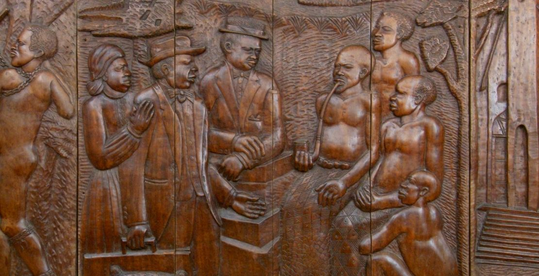 The Liberian Mural: Sculptor Alfred Yeagon