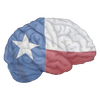 The Intelligent South Texas brain logo