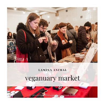 Join Lamina Animal on the 12th of January at The Boiler House for the Veganuary+ Market.