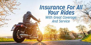 Affordable Motorcycle and ATV Insurance.