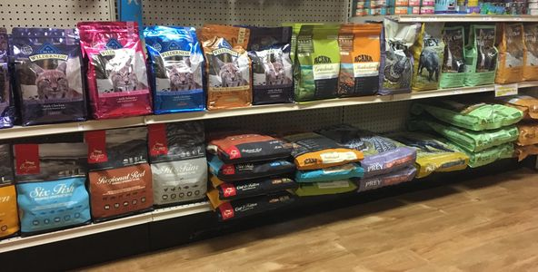 Cat Foods Orijen, Taste of the wild, canidae, diamond, acana, nutro, blue, stella and chewy, nulo