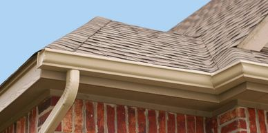 Top Rated, Professionally installed Seamless Gutters in Colorado Springs and surrounding areas
