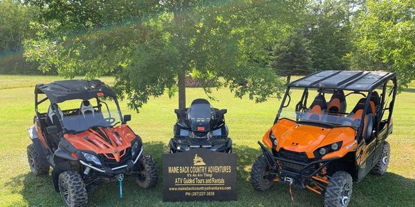 Maine Atv Rentals Guided Tours Maine Back Country Adventures
