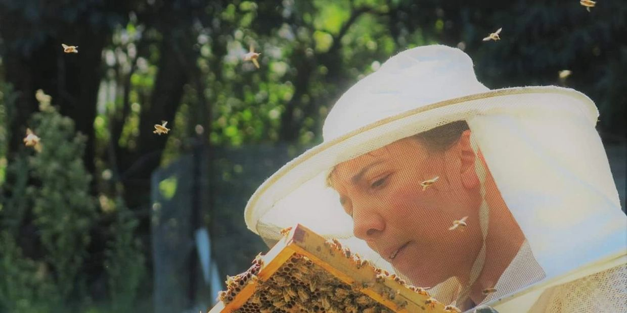 I started beekeeping in 2012, in Italy. It is still my passion!