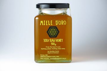 Raw, cold extracted unprocessed seasonal Honey from the Northern Rivers NSW Australia