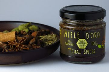 Chai spiced Honey paste. Ideal to make your favorite drink and cooking
