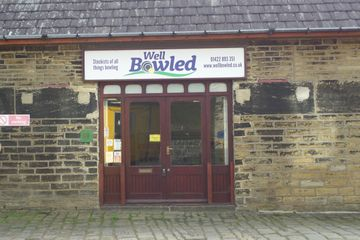 front view of the Well Bowled shop