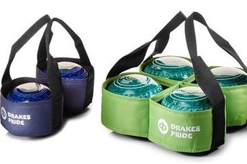 Drakes Pride two bowl and three bowl carrier