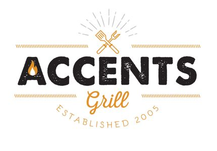 Logo of Accents Grill, a sister restaurant