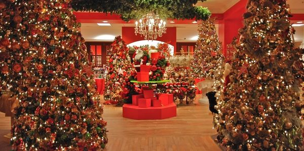 "Macy's ""Holiday Lane"" - installation in all 18 Macy's North stores by JD Vincent Design."