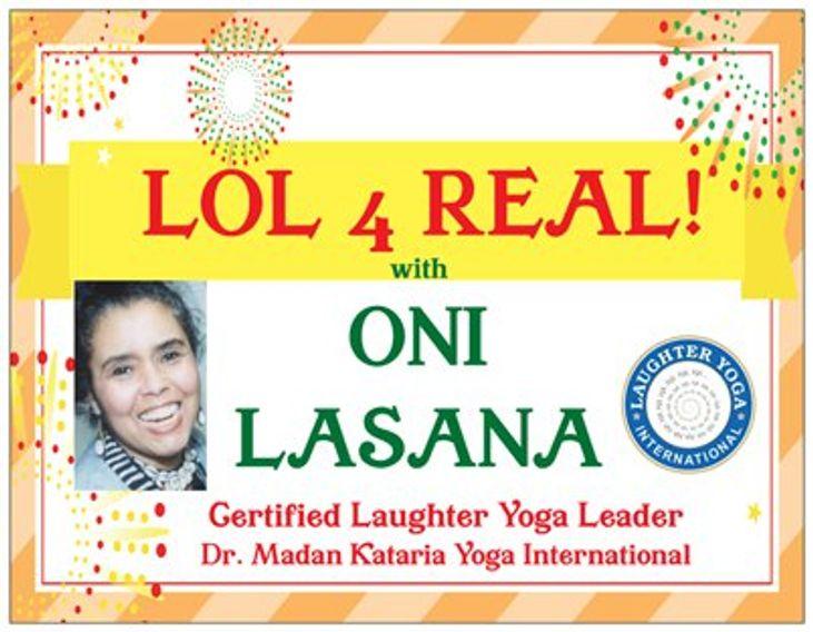 Oni Lasana Productions Laughter Yoga Wellness Performing Arts
