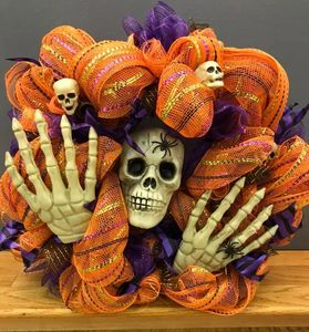 Scary Halloween Wreath