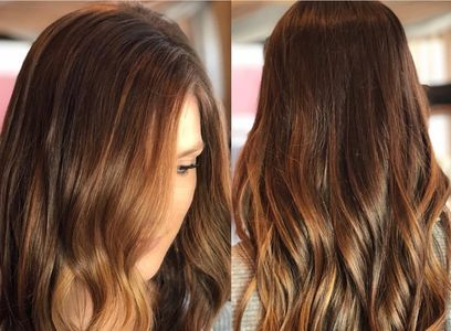 color balayage toner haircut hairstyle hair
