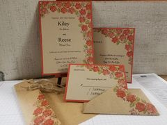 October Rose Suite shown here in double-layer style