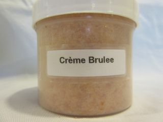 Crème Brulee Granulated Wax Melt 4 oz. Jar