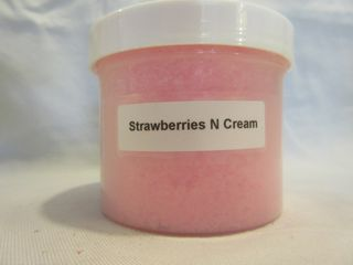 Strawberries N' Cream Granulated Wax Melt 4 oz. Jar