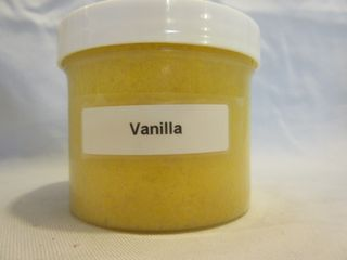 Vanilla Granulated Wax Melt 4 oz. Jar