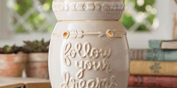 Follow Your Dreams Wax Burner.