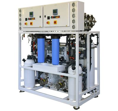 Seawater reverse osmosis systems Cathelco HEM Hatenboer Jowa Seafresh Marine Plant Systems Australia