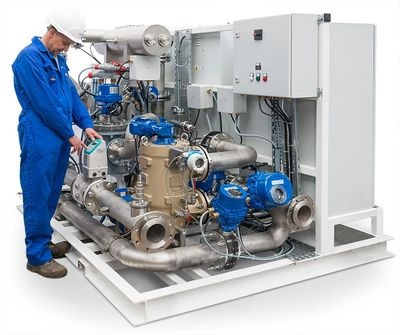 Cathelco ballast water treatment systems are supplied and serviced by Marine Plant Systems Australia