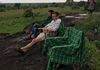 Paul relaxing at his favorite place, Kidepo Valley  National park