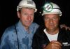 I am with Paul 400 feet down a shaft at his gold mine, Busitema in Eastern Uganda