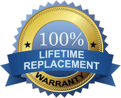Lifetime Replacement Warranty Seal