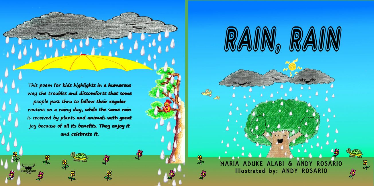 "Children's Book ""Rain Rain"" from Andy Daniel Rosario and Maria Aduke Alabi"