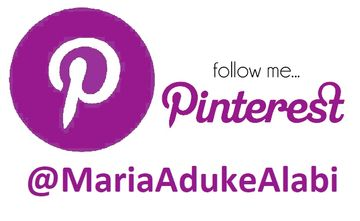 Follow the author Maria Aduke Alabi on her Pinterest page.